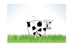 De illustratie van de koe Royalty-vrije Stock Foto