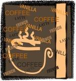 De Illustratie van de koffie Royalty-vrije Stock Foto