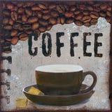 De Illustratie van de koffie Royalty-vrije Stock Fotografie