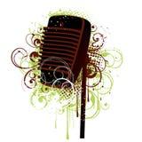 De Illustratie van de microfoon vector illustratie