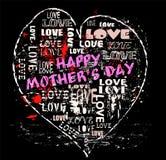 De illustratie van de moederdag, stock illustratie