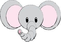 De Illustratie van de olifant Royalty-vrije Stock Foto