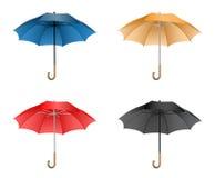De illustratie van de paraplu Stock Afbeeldingen