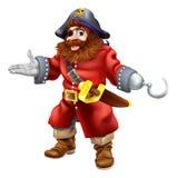 De illustratie van de piraat Royalty-vrije Stock Afbeeldingen