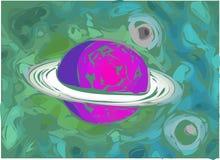 De Illustratie van de planeet vector illustratie