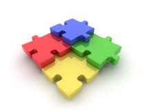 De illustratie van de puzzel Royalty-vrije Stock Foto