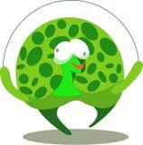 De illustratie van de schildpad Stock Illustratie