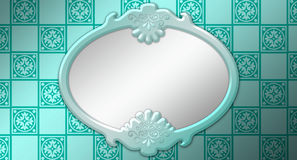 De Illustratie van de spiegel Stock Foto