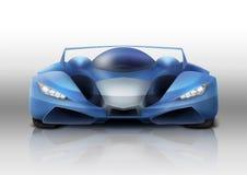 De illustratie van de sportwagen Royalty-vrije Stock Afbeeldingen