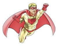 De Illustratie van de Stijl van Comicbook van Superhero Stock Fotografie