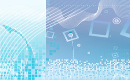 De illustratie van de technologie Stock Afbeelding