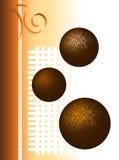 De Illustratie van de Truffel van de chocolade Royalty-vrije Stock Afbeelding
