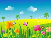 De illustratie van de tuin Royalty-vrije Stock Foto's