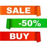 De illustratie van de verkoop royalty-vrije illustratie