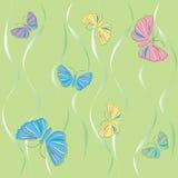 De illustratie van de vlinder Royalty-vrije Stock Foto