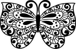 De Illustratie van de vlinder Royalty-vrije Stock Afbeelding