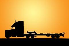De illustratie van de vrachtwagen Stock Afbeeldingen