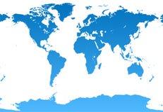 De illustratie van de wereld Stock Afbeeldingen