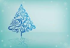 De illustratie van de winter Royalty-vrije Stock Foto's