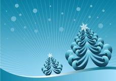 De illustratie van de winter Stock Illustratie