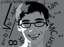 De illustratie van Geek royalty-vrije stock afbeelding