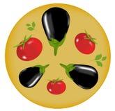 De illustratie van groenten Stock Foto