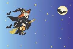 De illustratie van Halloween Royalty-vrije Stock Afbeeldingen