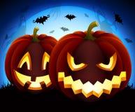 De illustratie van Halloween Royalty-vrije Stock Afbeelding