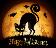 De illustratie van Halloween Stock Foto's