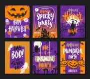 De illustratie van Halloween Stock Fotografie