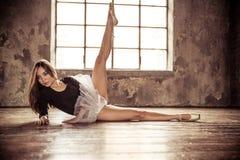 De illustratie van het ballet dancer stock afbeelding