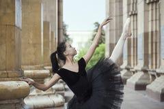 De illustratie van het ballet dancer Royalty-vrije Stock Afbeelding