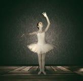 De illustratie van het ballet dancer Royalty-vrije Stock Foto