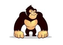 De gorilla van het beeldverhaal Stock Fotografie