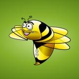 De illustratie van het bijenkarakter Stock Afbeelding