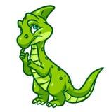 De illustratie van het dinosaurusbeeldverhaal Stock Fotografie