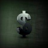 De illustratie van het dollarteken Royalty-vrije Stock Afbeeldingen