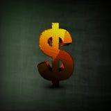 De illustratie van het dollarteken Stock Afbeelding