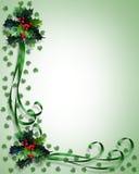 De Illustratie van het Frame van de Grens van Kerstmis Royalty-vrije Stock Foto