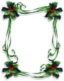De Illustratie van het Frame van de Grens van Kerstmis Stock Afbeeldingen