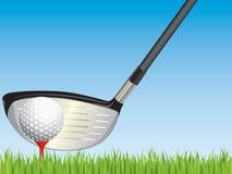 De illustratie van het golf. Stock Foto