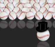 De illustratie van het honkbal Stock Foto