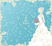 De illustratie van het huwelijk Royalty-vrije Stock Afbeeldingen
