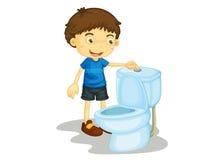 De illustratie van het kind Stock Afbeeldingen