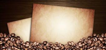 De illustratie van het koffiemenu Royalty-vrije Stock Afbeeldingen