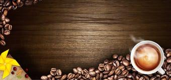 De illustratie van het koffiemenu Royalty-vrije Stock Foto