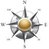 De illustratie van het kompas Royalty-vrije Stock Foto's