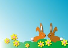 De illustratie van het konijntje Stock Afbeelding