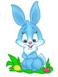 De illustratie van het konijntjesbeeldverhaal Stock Foto's