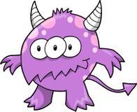 De Illustratie van het monster Royalty-vrije Stock Afbeeldingen